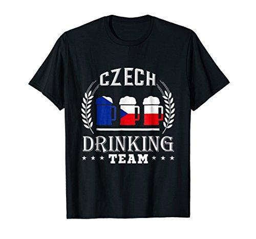 (Beer Czech Drinking Team Casual Czech Republic Flag)