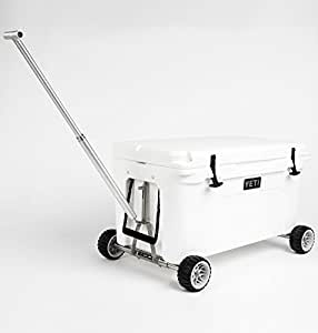 Badger Wheels Combo - Two Axles and Handle for Yeti Tundra Coolers