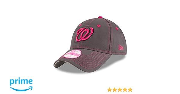 5b74ee98bc5 ... switzerland amazon mlb washington nationals womens 2016 mothers day  9twenty adjustable cap one size pink sports