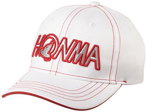 本間ゴルフ HONMA 836-312671 レディース ホワイトレッド FREE(56~58cm)