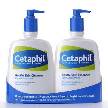 Cetaphil Gentle Skin Cleanser (20 oz., 2 pk.) (pack of 6) by Cetaphil