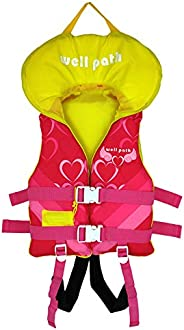 Kids Swim Vest Life Jackets for 24-77 lbs,Child Swim Flotation Learn to Swim, Head Protection Buoyancy Life Ve