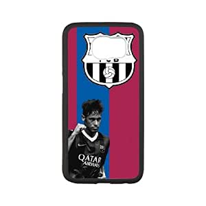 Barcelona Barcelona Samsung Galaxy S6 Cell Phone Case White DIY Gift pxf005_0253575