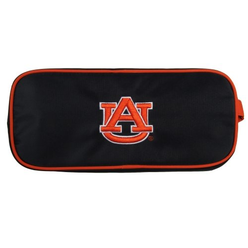 (Charm14 NCAA Auburn Tigers Travel Case-Toiletry Bag with Embroidered Logo)