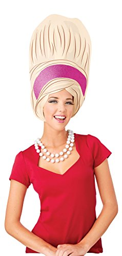 BuyCostumes Big Beehive Adult Foam Wig
