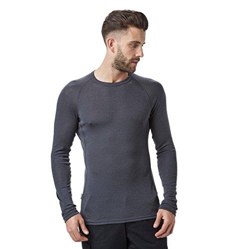 Icebreaker Merino Everyday Base Layer Long Sleeve Crew Neck Shirt, New Zealand Merino Wool