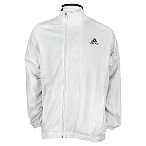 Adidas Edge Warm-Up Jacket Men's (wht) - LARGE - Adidas Tennis Mens Edge
