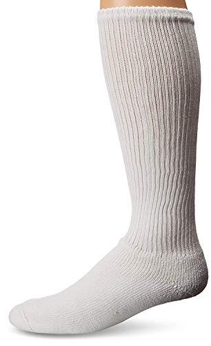 WigWam King Cotton High Socks, Large, White