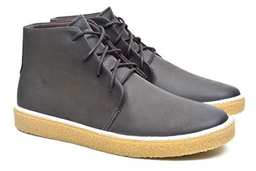 Sapato Casual Couro Fork Masculino