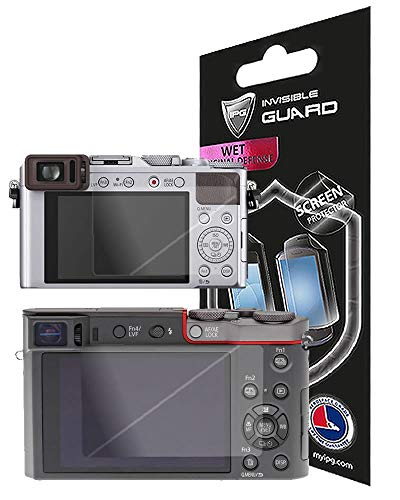 for PANASONIC LUMIX ZS100-TZ100-LX100 Screen Protector with Lifetime Replacement Warranty Invisible Screen Guard – HD Quality/Self-Healing/Bubble -Free