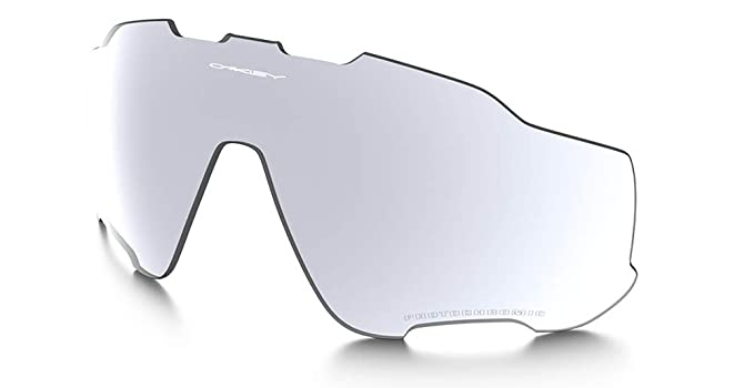 d2a4be53b857 Oakley Jawbreaker ALK Clear Black Iridium Photochromatic Activated  Replacement Lens