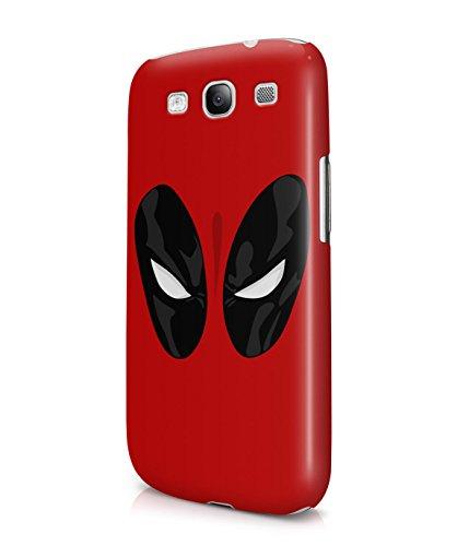 Deadpool Face Superhero Comics Plastic Snap-On Case Cover Shell For Samsung Galaxy S3