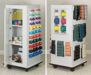 Astoria MaxRac - CabinetRac (no mirror) - Vangaurd series Model 5101A - Storage rac system Physical Therapy / Exercise Equipment Storage Item# 5101A by Clinton Kangoo