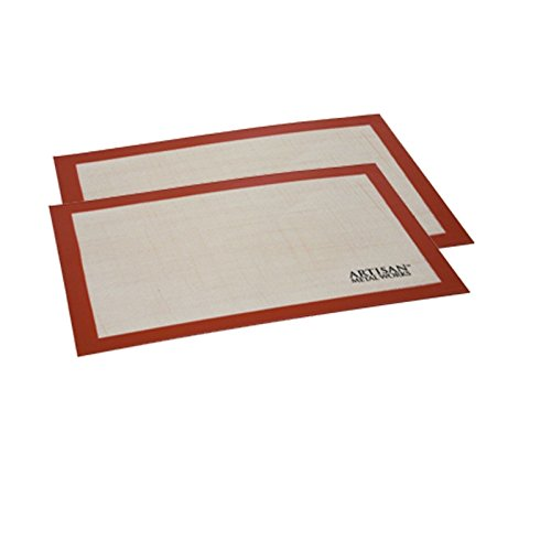 Price comparison product image Doaaler(TM) Artisan Metal Works Silicone Baking Mat 2 Pack Silicone Baking Mat Sets Fits