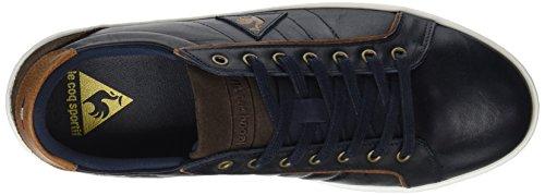 Low Le Offcourt Suede Coq Dress Leather Herren Blau Blue Sportif Trainer 7Ox70
