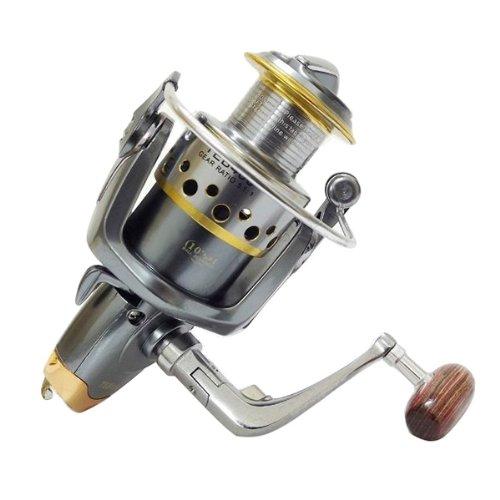 アウトドア釣りteb400 11シャフト4000 5 : 1 : 1ラインリールメタルカップ   B00Q1F8TJM