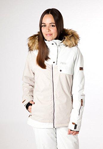 CNSRD Jilian Winterjacke Damen White Ash baU7AU