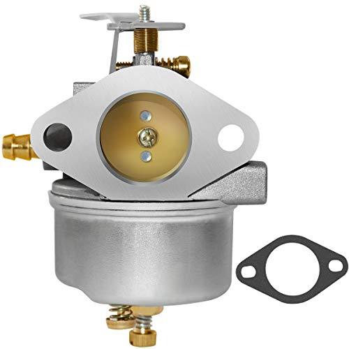 - 632334A Carburetor Compatible for Tecumseh HM70 HM80 HMSK80 HMSK90 HM100 HMSK100 OHSK110 OHSK120 OHSK125 Engine Snowblowers