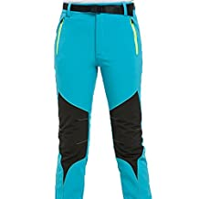 Winter Outdoor Mountaineer Soft Shell Pants Trousers Ski Pants