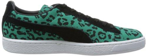 Puma SUEDE ANML Zapatillas Sneakers Verde Negro para Unisex