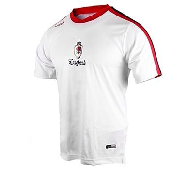 Viga - Camiseta de fútbol, diseño del escudo de la Selección Inglesa de fútbol Talla:Youth X-Large: Amazon.es: Deportes y aire libre