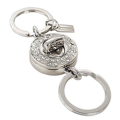 Coach Valet Crystal Keychain F92647