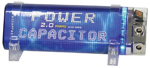 Blitz 2 Farad Triangular Car Audio Power Capacitor