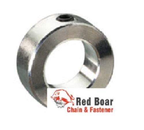 2 15//16 I.D Solid Shaft Collar Zinc w//set screw