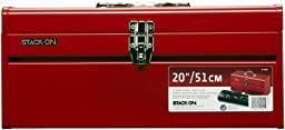 Stack-On R-420 20-Inch General Purpose Steel Tool Box, Red