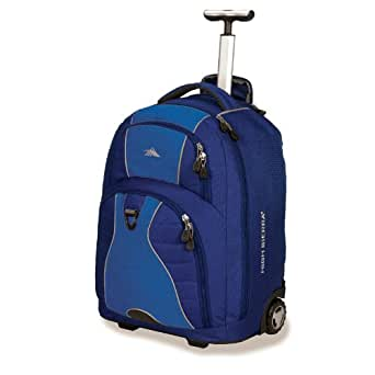 Freewheel Rolling Laptop Backpack Color: True Navy / Pacific