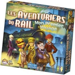 Days Of Wonder - Les aventuriers du rail - Mon premier voyage - Version française - 0824968202258