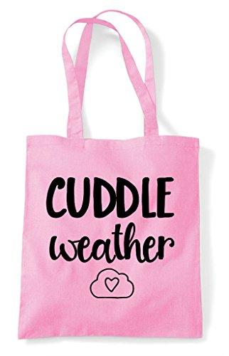 Cuddle Light Tote Cute Bag Statement Weather Pink Shopper Bq1wrBp