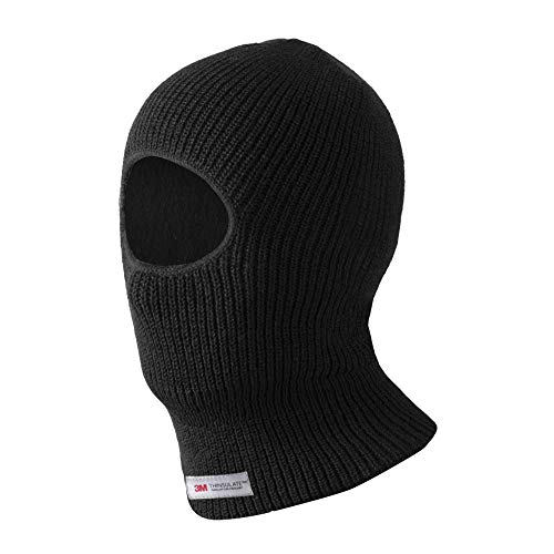 (Evridwear Thermal Double Layer Acrylic Knit One Hole Balaclava, Winter Ski Neck Face Protection Mask, One Size (3M Thermal Acrylic Knit))