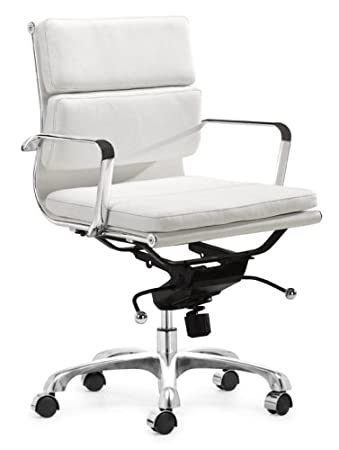 Amazing Zuo Modern Director Office Chair, White