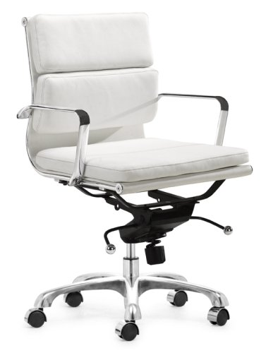 Zuo Modern Director Office Chair  White