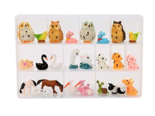 Miniature Ornament Dollhouse Garden Animal