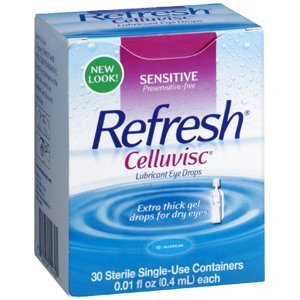 Refresh Celluvisc Lubricant Eye Gel Single-use Containers 30 Ea (Pack of 3)