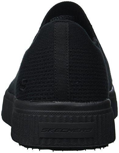 Skechers Heren Relaxte Fit-meleno-reen Sneaker Zwart 7