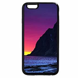 iPhone 6S / iPhone 6 Case (Black) fantastic colorful sunset