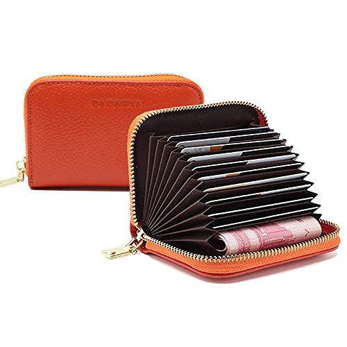 PAPARIA Women's Wallet, RFID Wallet Mini Purse Card Holder Card Case for Women and Girl