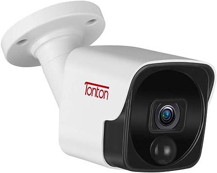 2 Metal Sign Fo4 IP 5MP Video Recorder Surveillance Camera CCTV Security System