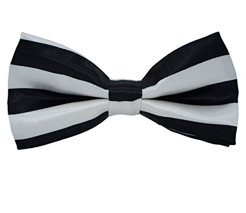 SYAYA Mens Male boy Classic Pre-Tied Formal Tuxedo Bowtie Adjustable Large BT1