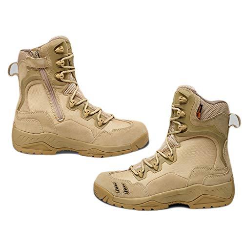 Stivali Addestrato High Gli Assault Terra Top degli Forze Combattono Alpinismo dell'Esercito da Boot di Sand Uomini All'aperto Desert Le Scarpe Combattimento Tactics Speciali di XvqUnYqf