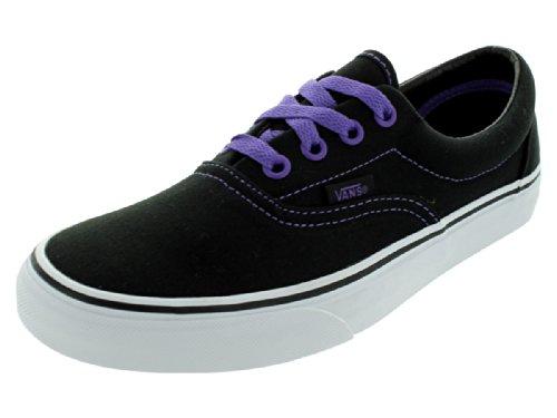 VansレディースEraブラックPassion Flowerスケートボード靴