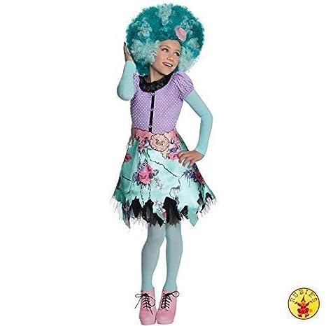 lively moments komplettkostüm Monster High MIEL Swamp con peluca vestido talla L=140: Amazon.es: Juguetes y juegos