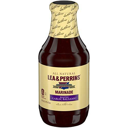 Lea & Perrins Roasted Garlic & Balsamic Vinegar Marinade, 16 fl oz Bottle