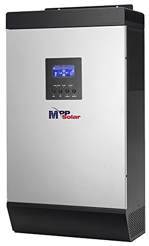 2kva 1600w 48vdc 110vac Solar Inverter 60A MPPT solar charger 10A Battery charger by MPP SOLAR
