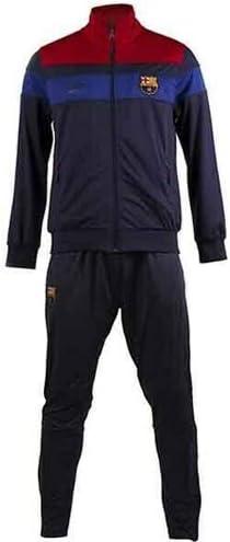 Traje Oficial Barcelona F.C. Blue Navy 2018 2019 en Blister Chaqueta y pantalón Barcelona Original para niños: Amazon.es: Deportes y aire libre