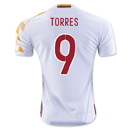 white-9-torres-away-match-football-soccer-adult-jersey-euro-2016