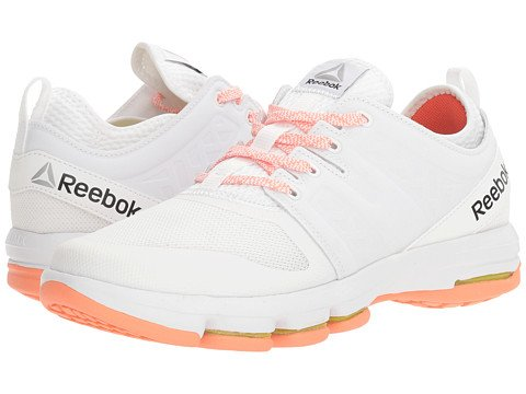 (リーボック) Reebok レディーススニーカー?ウォーキングシューズ?靴 Cloudride DMX White/Stellar Pink/Carotene 5 22cm B - Medium [並行輸入品]